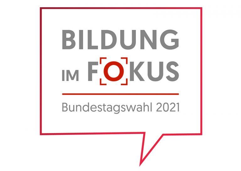 Logo: Bildung im Fokus